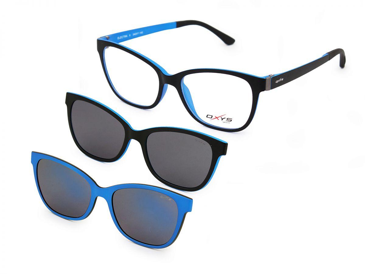 Rama de ochelari Oxys Clip On SPHERE ELECTRA X